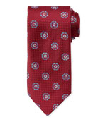 Canali Men's Satin Circle Medallions Tie