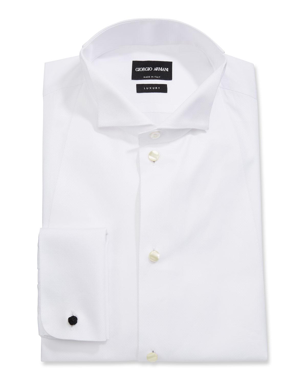 Men's Front Bib Formal Tuxedo Shirt
