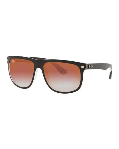 Flat-Top Plastic Sunglasses
