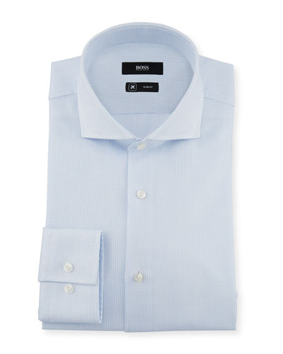Men's Slim Fit Travel Dress Shirt