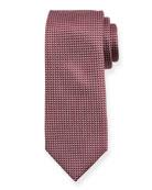 BOSS Geometric Motif Silk Tie