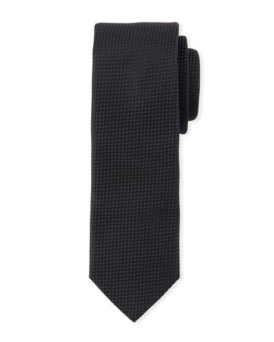 Men's Micro Dot Skinny Tie
