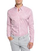 Ermenegildo Zegna Men's Striped Sport Shirt