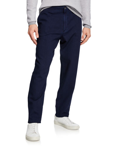 Men's Chino Denim Pants