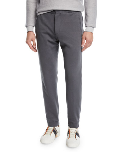 Men's Knit Jogger Trouser Pants