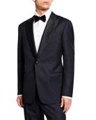 Giorgio Armani Men's Micro-Textured Two-Piece Tuxedo