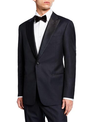 Men's Micro-Textured Two-Piece Tuxedo