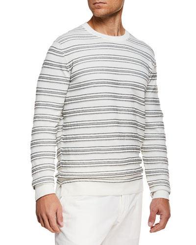 Men's Horizontal Stripe Shirt