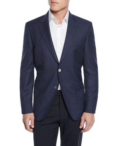Men's Birdseye Sport Coat