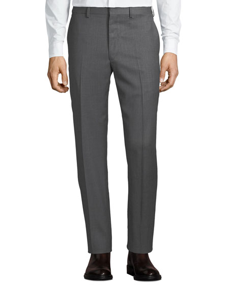 Ralph Lauren Purple Label Men's Gregory Flat-Front Pants