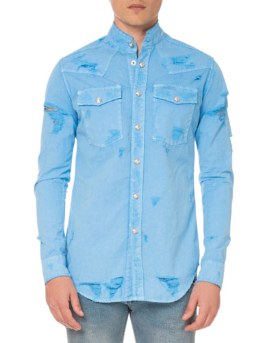 2168b1a30f69d8 Quick Look. Balmain · Men's Western Shirt