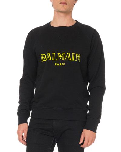 Men's Logo Typographic Sweatshirt