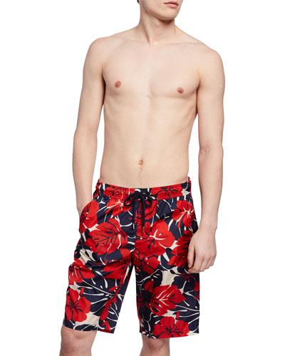 7b4091e6d8 Quick Look. Moncler · Men's Long Floral Swim Trunks