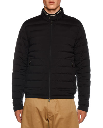 Acorus Quilted Stretch Nylon Jacket