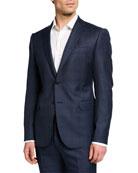 Emporio Armani Men's M Line Super 130s Wool