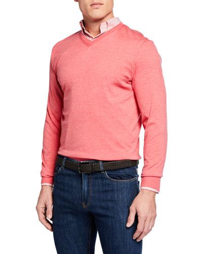 Men's Excursionist Flex V-Neck Sweater