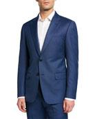 Emporio Armani Men's G Line Super 130s Wool