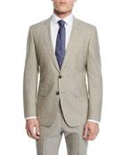 BOSS Men's Wool Two-Piece Suit