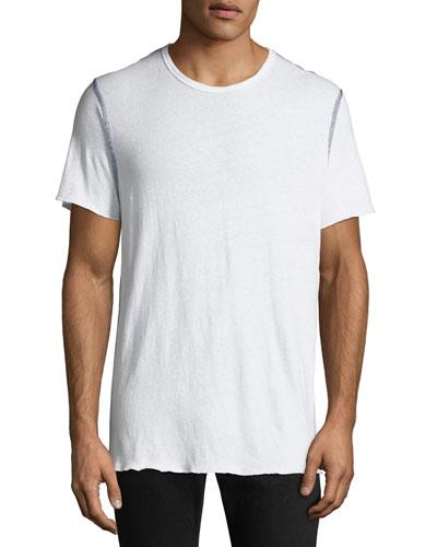 Men's Contrast Stitch T-Shirt
