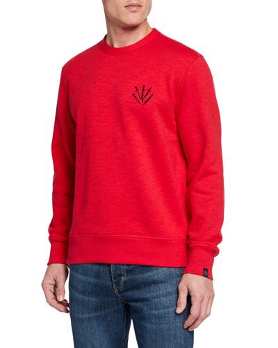 Men's Dagger Embroidered Sweatshirt