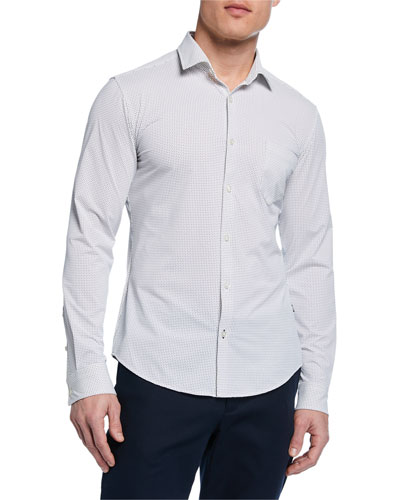 4dcfac8ff Hugo Boss Spread Collar Shirt | Neiman Marcus