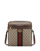 Gucci Men's GG Supreme Medium Messenger Bag