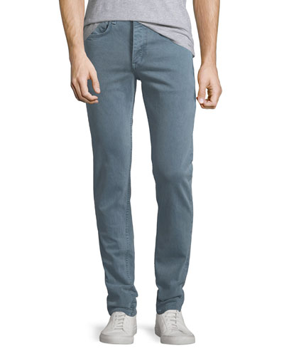 Men's Fit 2 Slim Fit Over-Dye Twill Jeans