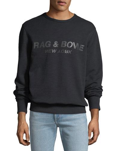 Men's Upside-Down Logo Sweatshirt