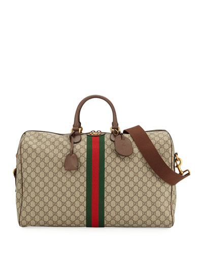 Quick Look. Gucci · Men s Ophidia GG Supreme Duffel Bag. Available in Beige 59c731d4e705e
