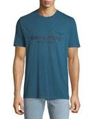 Rag & Bone Men's Garment-Dyed Pocket T-Shirt with