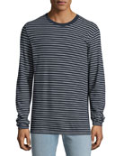 Rag & Bone Men's Pin-Thin Striped Long-Sleeve T-Shirt