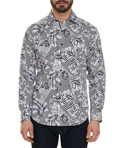 Men's Bellamy Long-Sleeve Sport Shirt