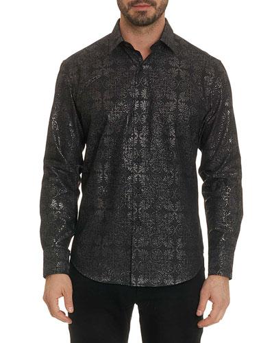 Men's Lismore Long-Sleeve Sport Shirt