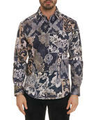 Robert Graham Men's Gallow Long-Sleeve Sport Shirt