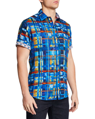 Men's Malloy Short-Sleeve Sport Shirt
