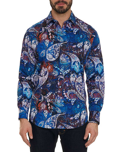 Men's Mayar Multicolor Sport Shirt