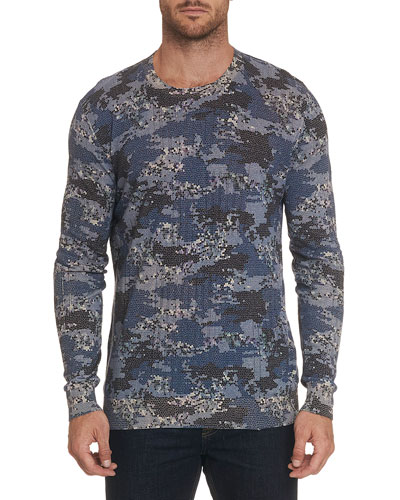Men's Dante Long-Sleeve Crewneck Shirt