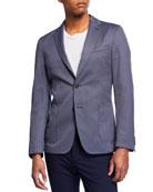 BOSS Men's Slim Fit Micro Jacket