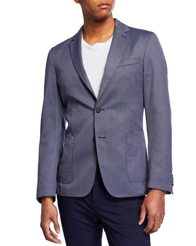 Men's Slim Fit Micro Jacket
