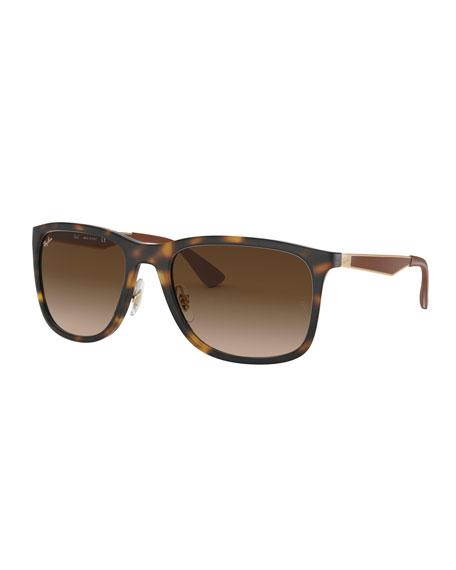 Ray-Ban Men's Square Gradient Propionate Sunglasses