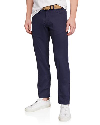 Men's Excursionist Flex Poplin Straight-Leg Trousers