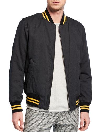 Men's Manston Reversible Bomber Jacket