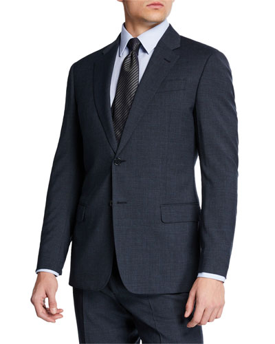 Men's G Line Melange Two-Piece Suit