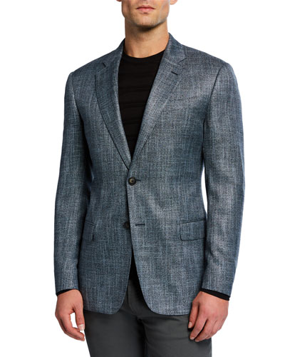 Men's Bamboo Melange Sport Coat