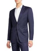 Giorgio Armani Men's Micro Birdseye Two-Piece Suit