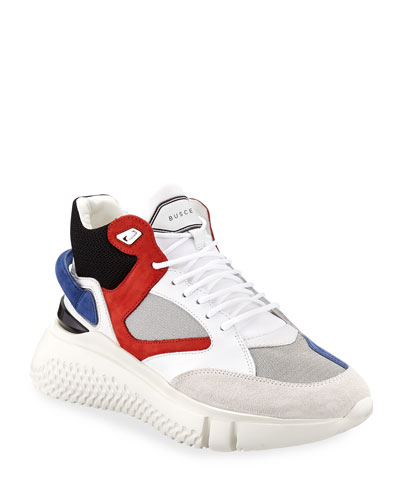 Men's Veloce Mid-Top Runner Sneakers