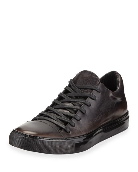 John Varvatos Men's Reed Low-Top Leather Sneakers