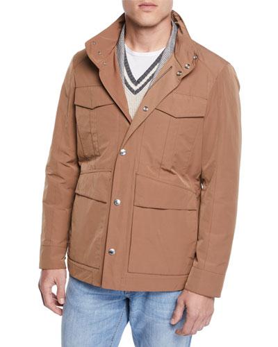 Men's Vespa Moto Long Jacket