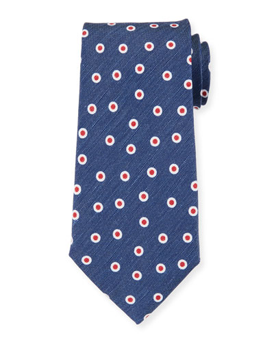 Camargue Small-Circle Tie, Multi