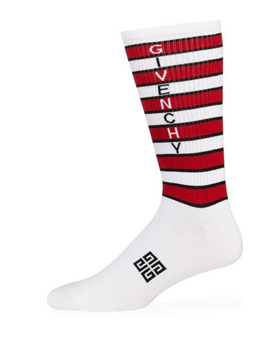 Men's 4037 Sporty Stripe Socks